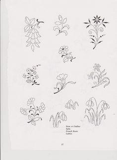 Flower patterns. No website. jwt