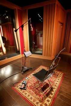 Would love to have a music studio. This picture is from SubCat Music Studios