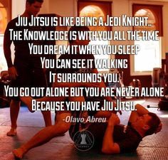 Bjj quote. Martial arts inspiration. True for other arts. Continue to equip yourself with a strong mind and body to be prepared for any given situation