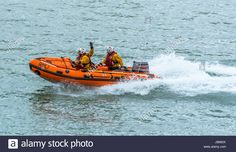 Download this stock image: Scenes from Moelfre Lifeboat day on Anglesey, taken on the 16th August 2014. - JB683X from Alamy's library of millions of high resolution stock photos, illustrations and vectors.