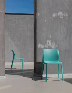 The Sea Green Bit Side chair.