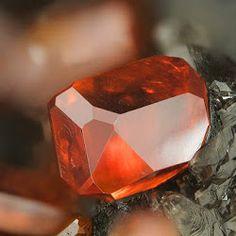 Clear Vanadinite Crystal From Arizona