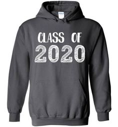 Class of 2020 Graduation Hand Sketched Hoodie