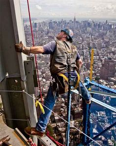1000+ images about Ironworkers (sky walkers) on Pinterest | Empire ...