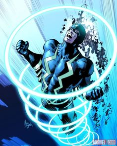 Black Bolt by Mike Deodato Jr.