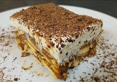 Greek Sweets, Greek Desserts, Cold Desserts, Greek Recipes, Yogurt Coffee Cake Recipe, Food Network Recipes, Cooking Recipes, The Kitchen Food Network, Kai