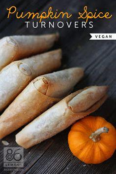 Pumpkin Spice Turnovers (V)