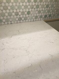Snowy Ibiza Silestone countertop for our new kitchen!