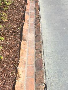 Houmas House Plantation drainage/concrete & bricks #drivewaylandscape