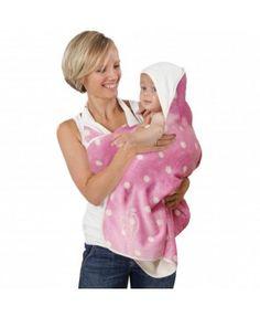 Ręcznik #bambusowy dla dzieci, który mama lub tata zakłada na siebie jak fartuch, dzięki czemu ma wolne ręce podczas kąpieli i wyjmowania maluszka z wody. W rezultacie mokry maluch zaraz po opuszczeniu wanny bezpiecznie ląduje w ramionach rodzica szczelnie otulony mięciutkim ręcznikiem.Cuddledry