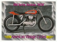 American Vintage Cycles Series I #  20 - 1968 Harley-Davidson XR 750 - Champ 1992