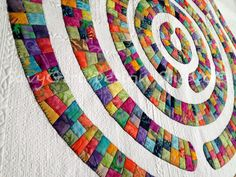Quilt by Colleen Granger in the book Circle Quilts