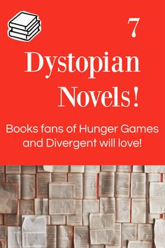 Looking for your next dystopian book series? This list of dystopian books are the perfect next step and are sure to be the right fit for any dystopian fan! Find your next favorite book! Amazing Books, Great Books, Dystopian Society, Told You So, Love You, Books For Teens, Kids Reading, Book Series, Hunger Games