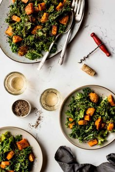 ZA'ATAR SWEET POTATOES & GARLICKY KALE