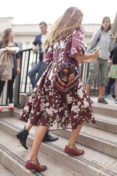 They Are Wearing: Milan Fashion Week - Slideshow  #Apostolicfashion #modestfashion #modestdress #tzniutfashion #classicdress #formaldress #kosherfashion #apostolicclothing