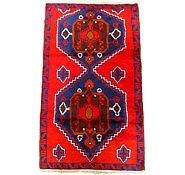 Red 2' 10 x 4' 8 Balouch Rug   Area Rugs   eSaleRugs