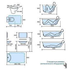 Шпаргалка по планировке санузла, с учетом эргономических норм - Дизайн интерьеров | Идеи вашего дома | Lodgers