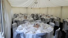Chair covers at Cockliffe Country House in Nottingham by Midlands Chair Cover Hire