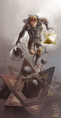 EK33 - Ascension Merkaba - Derek Stenning - http://borninconcrete.com