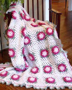 Cicekli battaniye