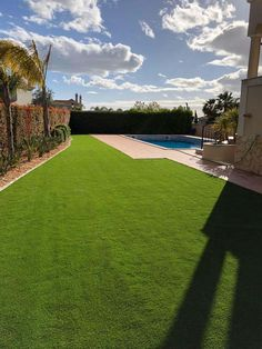 Artificial grass products are available for all garden solutions. Namgrass artifical grass is active in over 25 countries worldwide. Garden Solutions, Grass, Portugal, Golf Courses, Sidewalk, Grasses, Walkways, Herb, Pavement