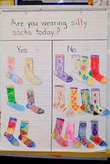 Wear silly socks, color and graph You are in the right place about dr seuss activities preschool Here we offer you the most beautiful pictures abou Dr. Seuss, Dr Seuss Week, Preschool Themes, Kindergarten Activities, Preschool Activities, Kindergarten Freebies, Number Activities, Time Activities, Preschool Learning