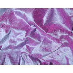 Lilac Fuchsia Blue Iridescent Silk Dupioni Fabric