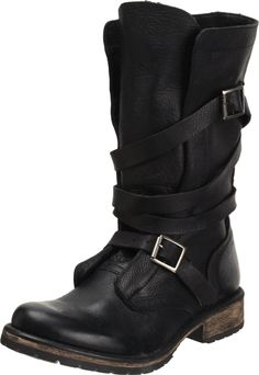 The is the black version of the Steve Madden Banddit Boot. I think I could go for both the black and the saddle color