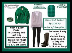 Host a party in January, in home or online!  www.dotsonjj2.jamberrynails.net