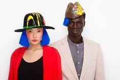 #neonkids #couple #fashion #millinery #ivaksenevich #colors #art
