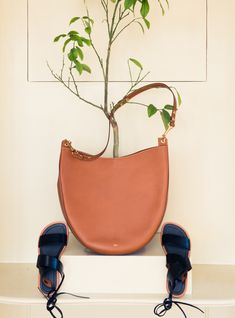 There was mucho Cèline and Hermès. It's all part of that 'expertly curated' thing, you know? http://www.thecoveteur.com/rosetta-getty/
