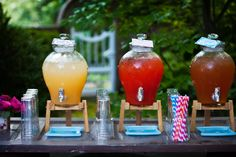 Cute drink station