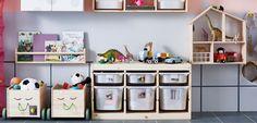 IKEA Kleinaufbewahrung, z. B. FLISAT Spielzeugwagen