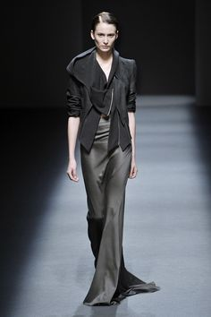 Haider Ackermann Fall 2009 #drape #jacket