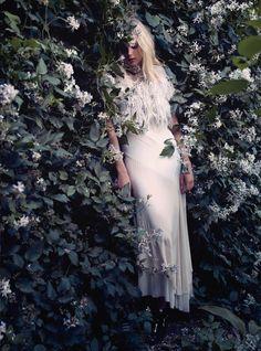 visual optimism; fashion editorials, shows, campaigns & more!: fair maiden: juju ivanyuk by david slijper for uk harper's bazaar december 20...