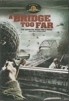 De filmtitel A Bridge Too Far verwijst naar de verwoesting van de Rijnbrug tijdens de Slag om Arnhem