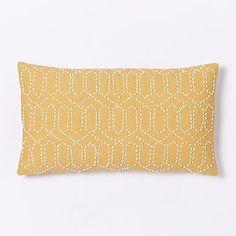 Jay Street Gantha Pillow Cover - Horseradish #westelm
