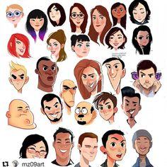 Character Creation, Character Concept, Concept Art, Character Drawing, Character Illustration, Cartoon Drawings, Cartoon Art, Cartoon Design, Face Doodles