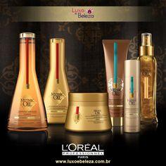 L'Oréal Mythic Oil Tratamento de nutrição para todos os tipos de cabelos. Página: http://luxoebeleza.com.br/catalogsearch/result/index/?cat=&limit=all&q=mythic