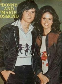 Donny and Marie Osmond!