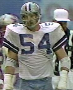 Defensive tackle RANDY WHITE (54)--NFC Wild Card game December 28, 1980