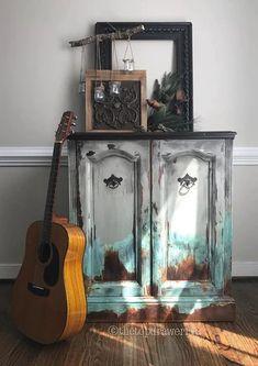 | Bohemian Furniture Design Bohemian Furniture, Art Furniture, Upcycled Furniture, Rustic Furniture, Painted Furniture, Vintage Furniture, Furniture Design, Painted Wardrobe, Bohemian Design