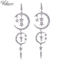 Like and Share if you want this  Vedawas New Luxury Full Crystal Mulilayer Star Moon Pendant Earrings Fashion Women Statement Earrings Accessory 1206     Tag a friend who would love this!     FREE Shipping Worldwide     Buy one here---> http://jewelry-steals.com/products/vedawas-new-luxury-full-crystal-mulilayer-star-moon-pendant-earrings-fashion-women-statement-earrings-accessory-1206-2/    #gold_earrings