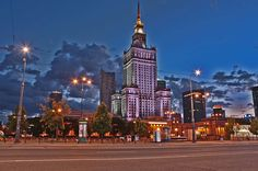 The modern Capitol of Poland