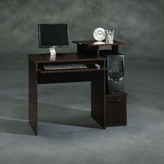 Student Desk Computer Home Office Workstation Study Table Dorm Wood Furniture #Sauder #Transitional