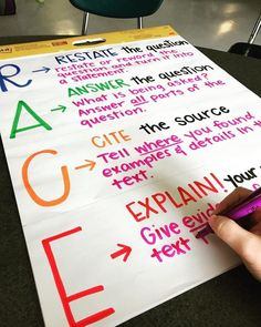 36 Awesome Anchor Charts for Teaching Writing - Your students are going to love these writing anchor charts. Everything from editing to essay writing gets a boost with these helpful reminders. Applying Graphs plus Topographical Routes 4th Grade Ela, 3rd Grade Writing, 4th Grade Reading, Third Grade, Teaching 5th Grade, Grade 2, Race Writing, Teaching Writing, Essay Writing