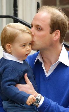 Prince William Brings Prince George to Hospital to Visit Kate and Newborn Sister, Royal Baby No. 2?See Pics! | E! Online Mobile