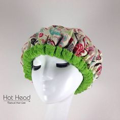 Hot Head Microwavable Heat Cap for Deep by ThermalHairCare