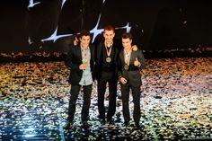 Marquez, Lorenzo, Pedrosa, FIM MotoGP Awards, Valencia MotoGP 2013