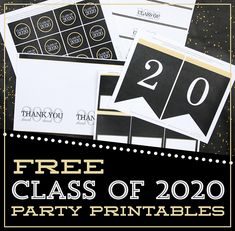 Graduation Decorations Discover Free Class of 2020 Graduation Party Printable Decorations - Lil Sprout Greetings Graduation parties are a great way to show your graduate how proud you are of them and to send them. Senior Graduation Quotes, Graduation Decorations, Graduation Party Decor, Grad Parties, Graduation Ideas, Senior Quotes, Graduation Caps, Grad Cap, College Graduation